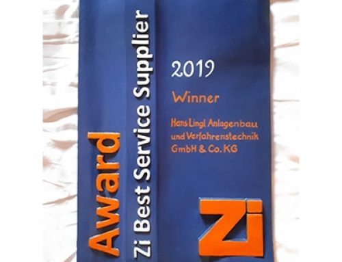 Lingl awarded best service suppler 2019!